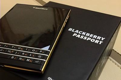 Inikah BlackBerry Passport dengan BazelEmas
