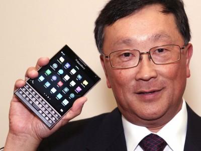 Chen: Permintaan BlackBerry Passport MelebihiHarapan