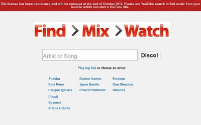 Akhir Oktober 2014, Google Hentikan Layanan YouTubeDisco