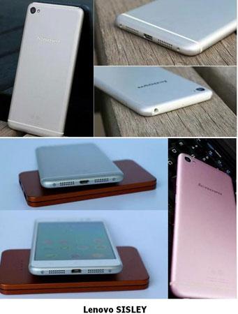 Lenovo Garap SISLEY, Smartphone Berdisain Mirip iPhone6?