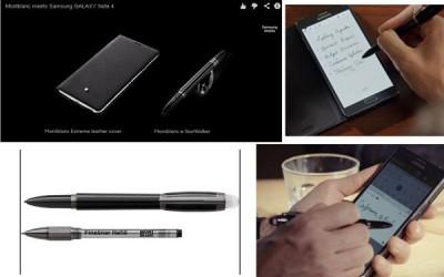 Bersama Montblanc, Samsung Rilis Aksesoris di Galaxy Note4